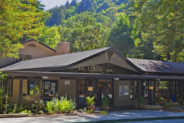 The entry for Big Sur Lodge