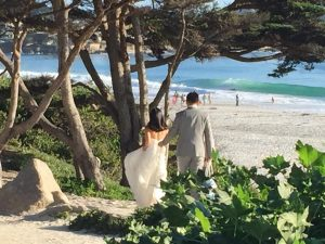 Carmel California Beach Wedding