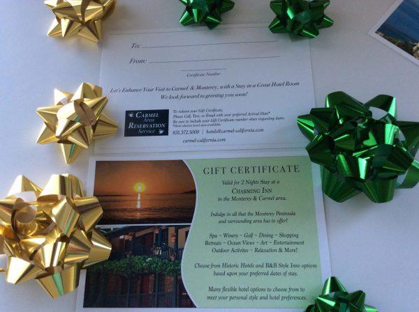 Charmin Inn Stay - Gift Certificate