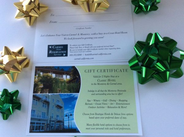 Classic Hotel Stay - Gift Certificate