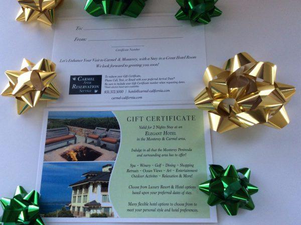 Elegant Hotel Stay - Gift Certificate