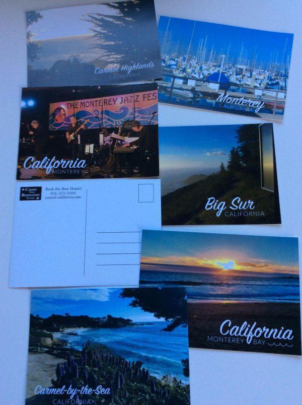 Shop for Monterey -Carmel Post Cards